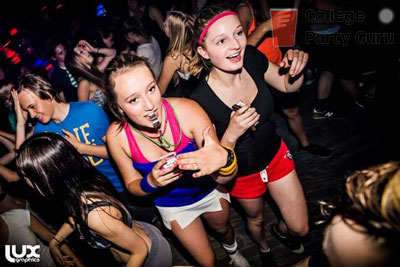 yoga hoes and workout bros  college party guru